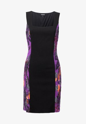 DESIGNED BY M. CHRISTIAN LACROIX: - Day dress - black