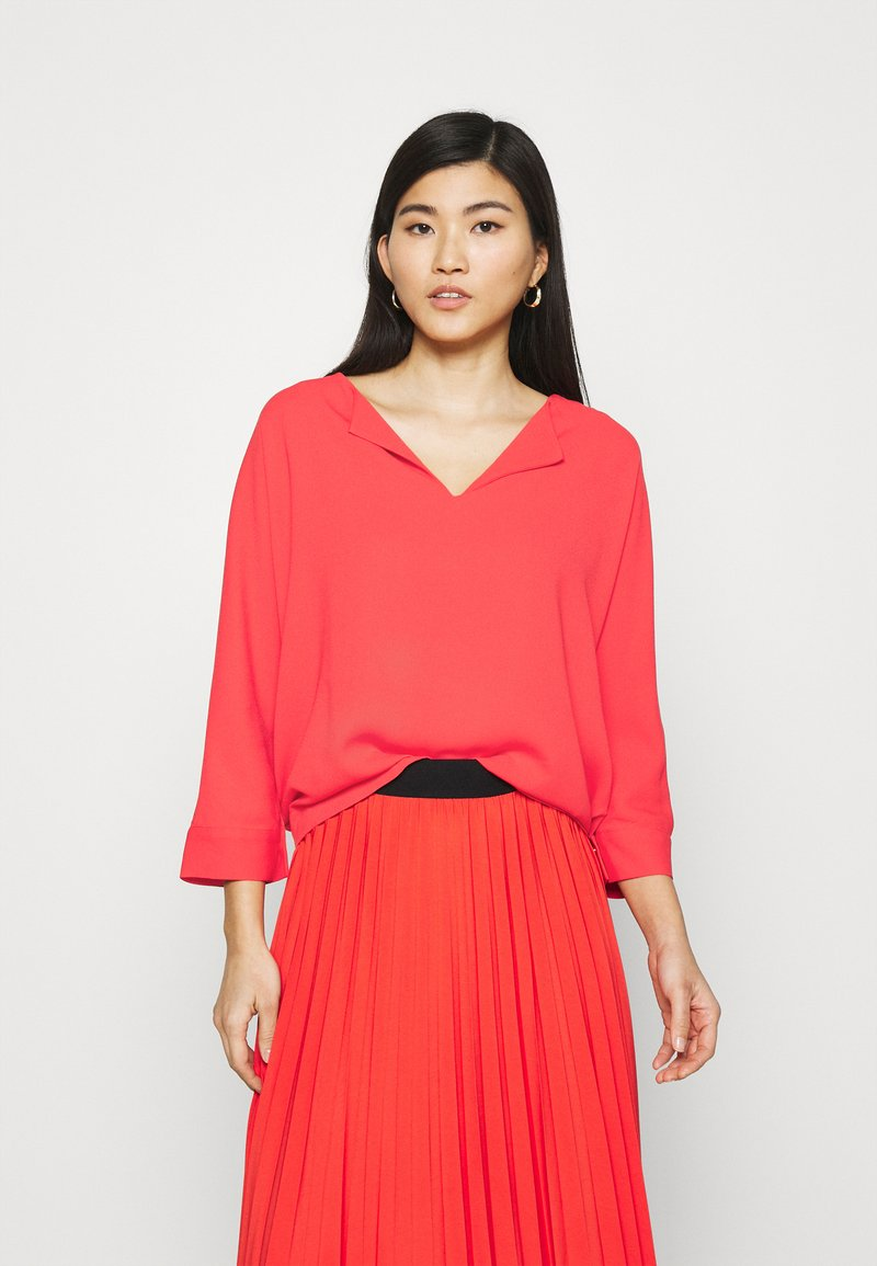 comma - Long sleeved top - red