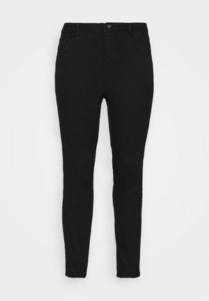 CURVE MIDWASH ELLIS  - Straight leg jeans - black