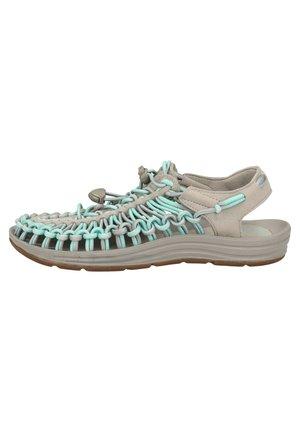 KEEN SANDALEN - Sandals - drizzle/cockatoo