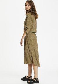 Soaked in Luxury - SL ZAYA  - Day dress - scattered dot print elmwood - 2