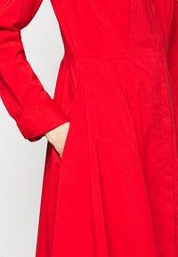 Steffen Schraut - EXCLUSIVE BLOUSE DRESS - Shirt dress - flash red - 6