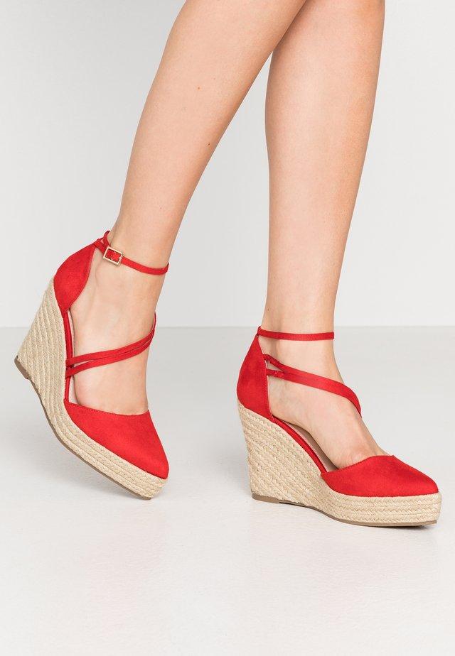 BENITA - High heels - red
