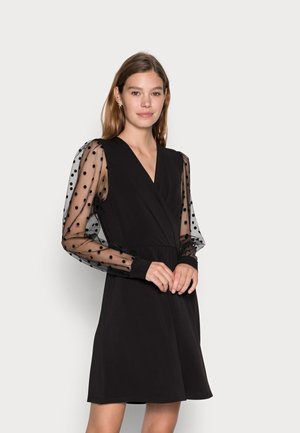 ONLJENNY WRAP DRESS - Vestito estivo - black