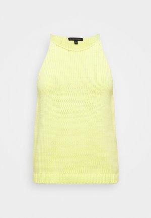 CASTOFF HALTER TANK - Top - luminous yellow
