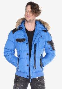 Cipo & Baxx - Winter jacket - blue - 3