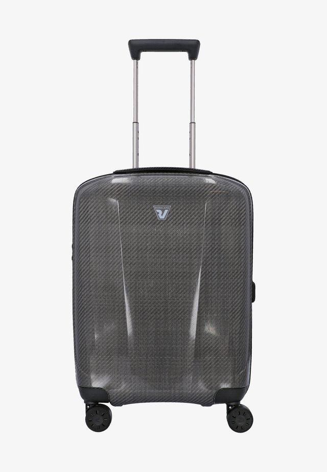 Wheeled suitcase - nero platino