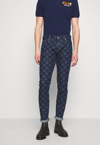 Just Cavalli - PANTS POCKETS STARS - Džíny Slim Fit - blue denim - 0
