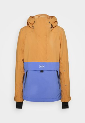 PASSAGE ANORAK - Snowboard jacket - vintage gold