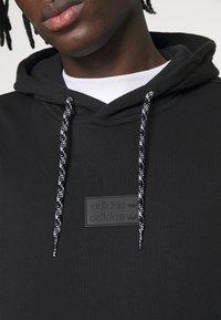 adidas Originals - SILICON HOODY UNISEX - Hættetrøjer - black - 4