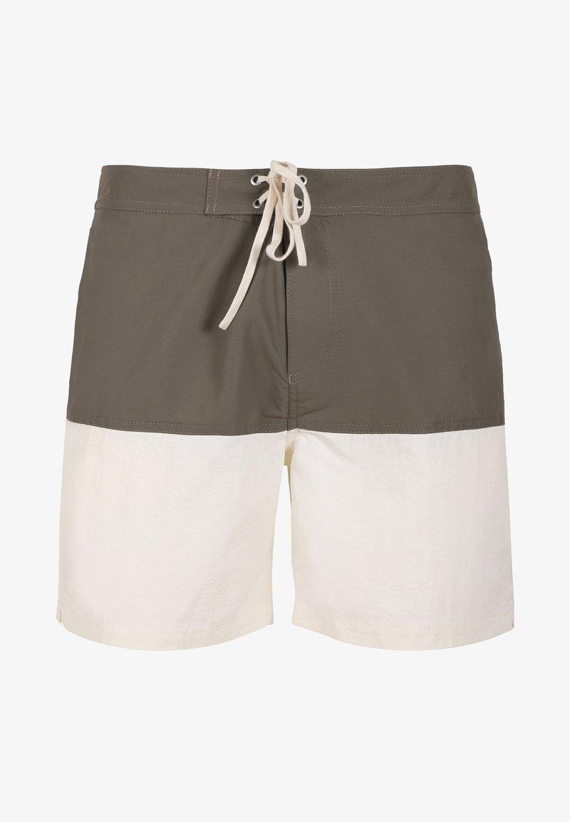 Scalpers - TWO-TONE SWIMMING TRUNKS - Swimming trunks - khaki