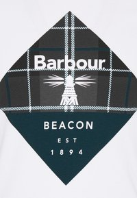 Barbour Beacon - BECKER TEE - Triko s potiskem - white - 2