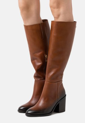 LONG BOOT - High heeled boots - pumpkin paradise