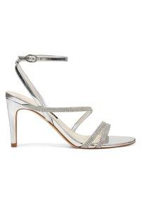 Nine West - High heeled sandals - silver - 3