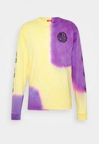 Santa Cruz - UNISEX MAKO - T-shirt con stampa - yellow/purple - 1