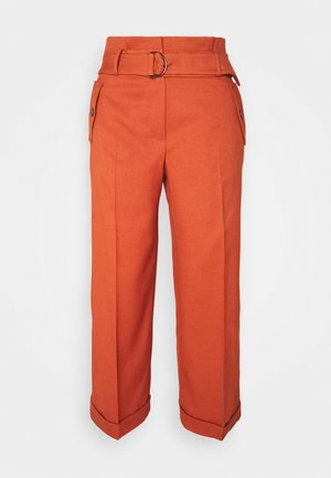 TROUSER - Trousers - terracotta