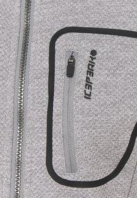 Icepeak - VALENCIEN - Fleece jacket - light grey - 5