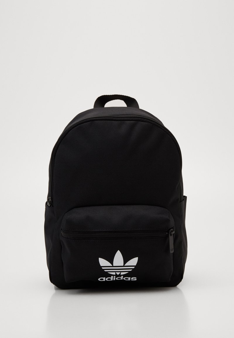 adidas Originals - SMALL ADICOLOR BACKPACK - Rucksack - black