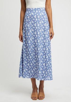ADLEY - A-line skirt - kn-powder blue/ciel