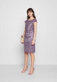 Swing - Cocktail dress / Party dress - grau/violett - 2