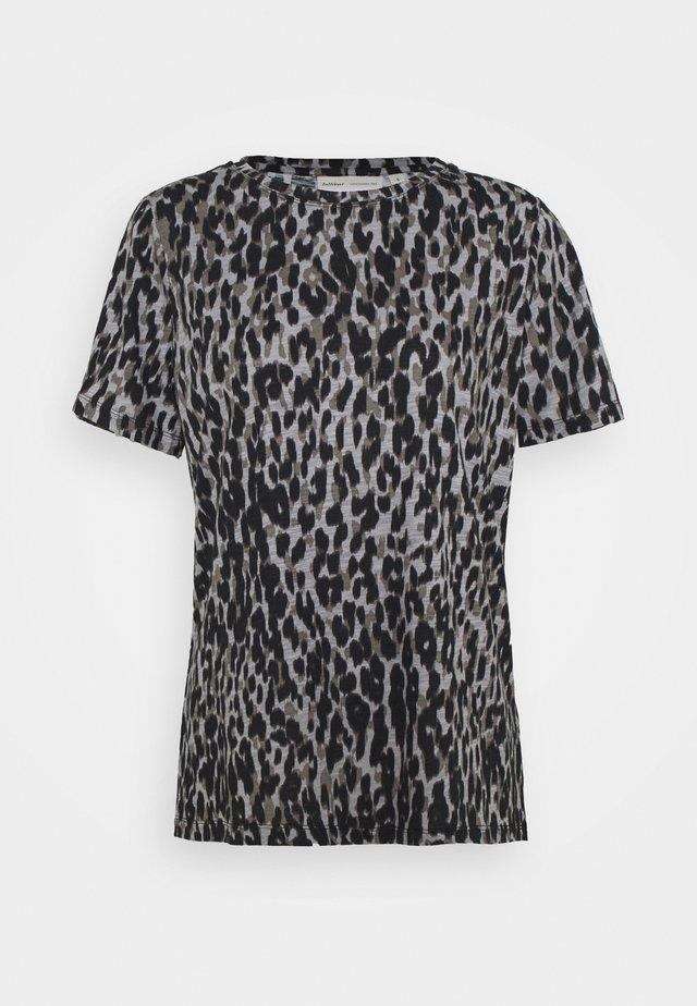 ALMA - Print T-shirt - ash grey