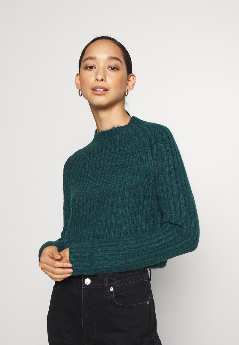 Monki - Strikkegenser - green dark