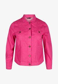 Zizzi - Denim jacket - pink - 3