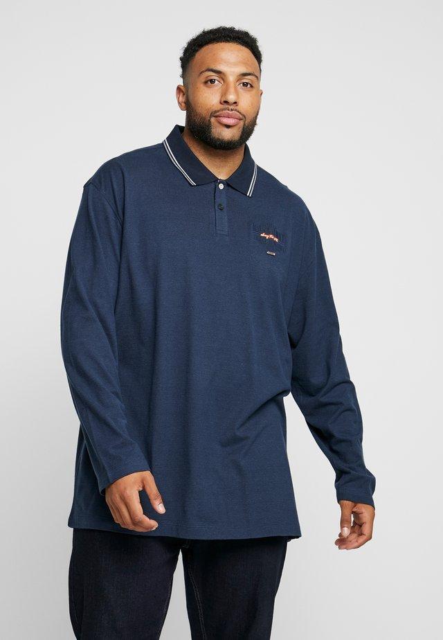 FINELINER STRIPE - Poloshirt - navy