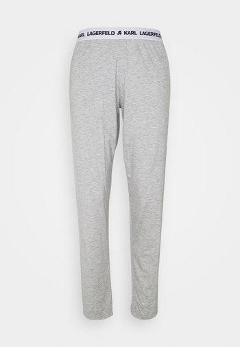 PYJAMA PANTS - Pyjama bottoms - heather grey