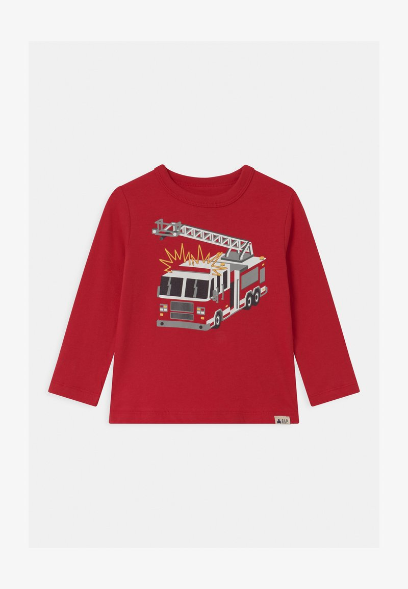GAP - TODDLER BOY GRAPHIC - Long sleeved top - modernred