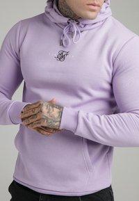 SIKSILK - CORE OVERHEAD HOODIE - Sweater - lilac - 4