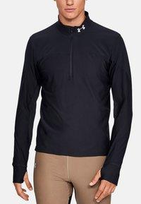 Under Armour - QUALIFIER  - Sports shirt - black - 1