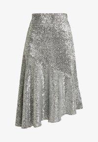 Monki - SKIRT - A-snit nederdel/ A-formede nederdele - silver - 3