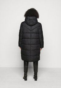 MY TRUE ME TOM TAILOR - LONG JACKET - Winter coat - deep black