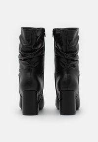 New Look - EXISTANCE - Kotníkové boty - black - 3