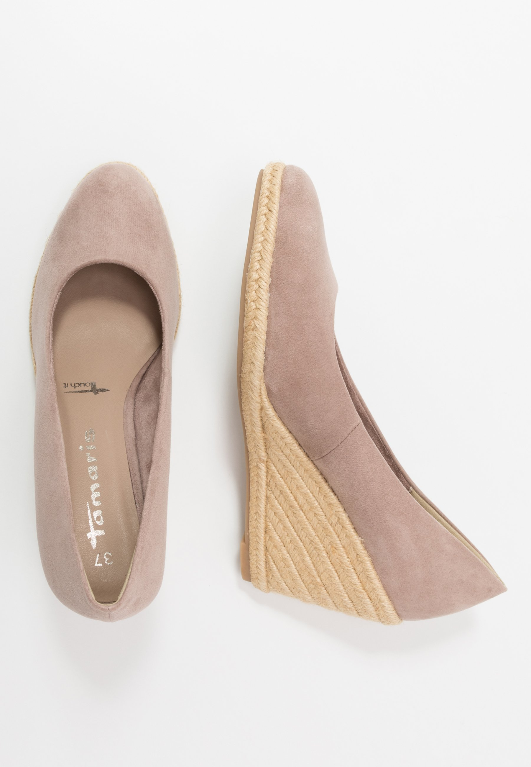 Klassiska pumps taupe