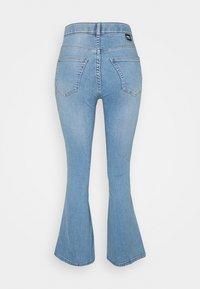 Dr.Denim Petite - MOXY FLARE  - Flared jeans - hurricane light blue - 1