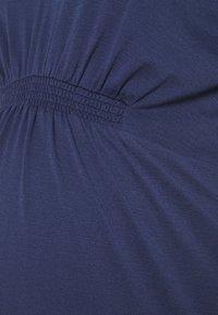 MAMALICIOUS - MLANALIA DRESS - Žerzejové šaty - estate blue - 2