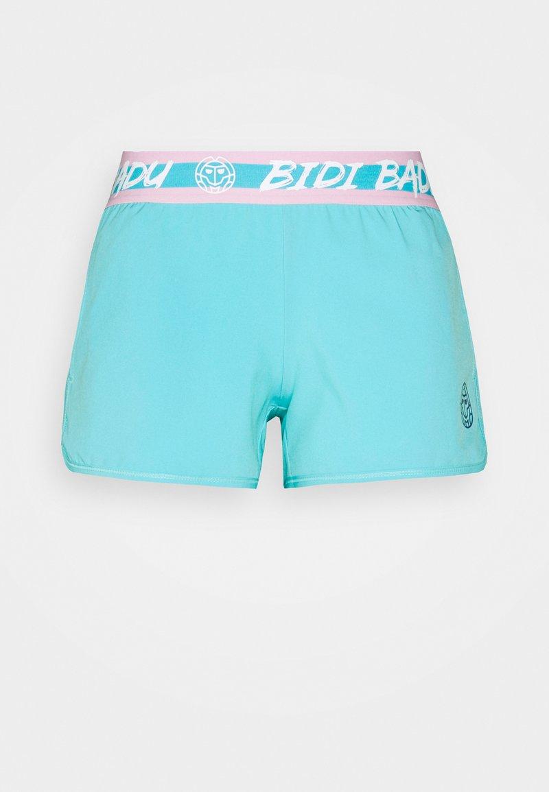 BIDI BADU - TIIDA TECH SHORTS - Urheilushortsit - aqua/white