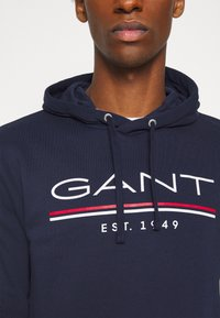 GANT - HOODIE - Sweatshirt - classic blue - 5