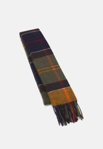INVERNESS TARTAN SCARF UNISEX - Scarf - multi-coloured/olive