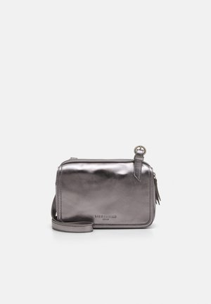 MAREIKE - Across body bag - silver lead
