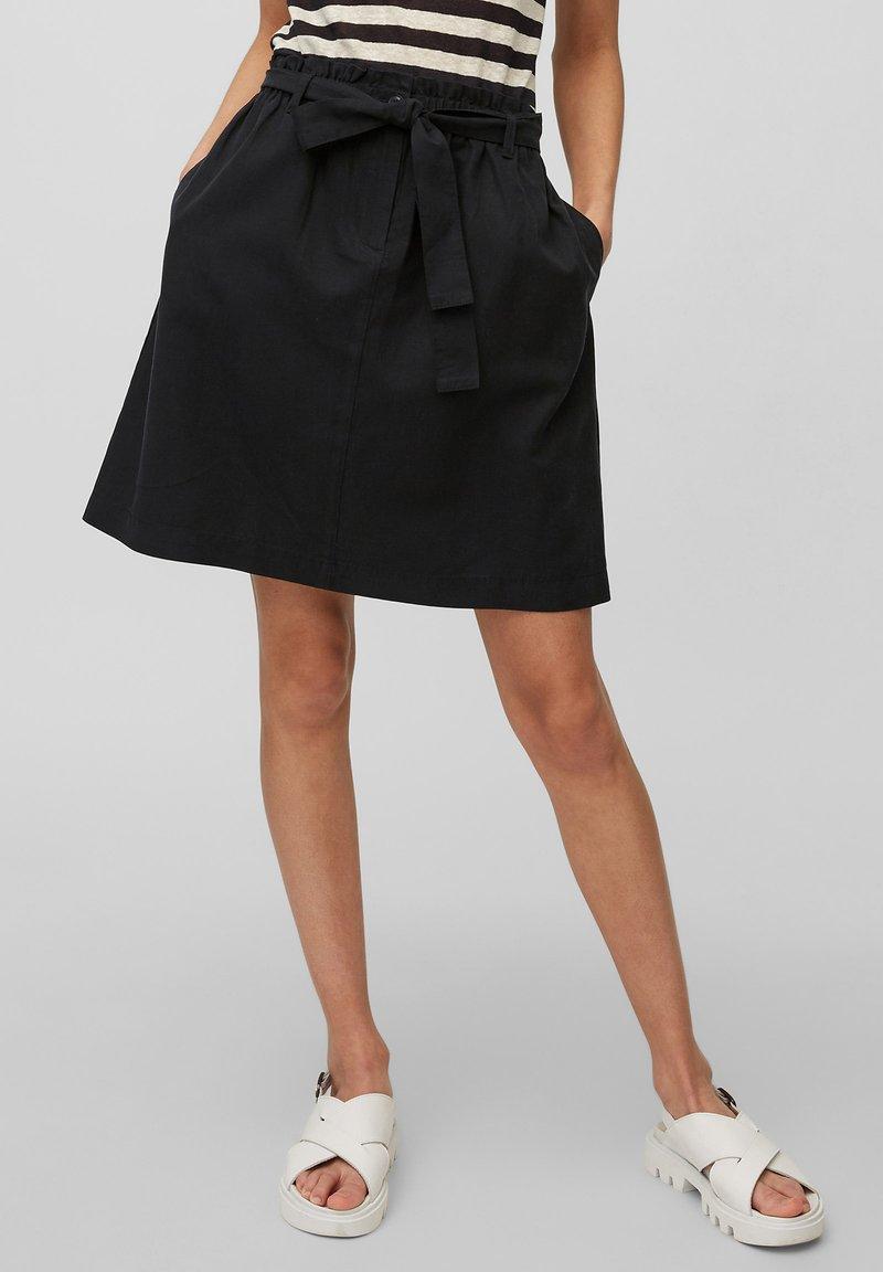 Marc O'Polo - A-line skirt - schwarz