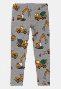 Lindex - VEHICLES - Leggings - Trousers - grey melange - 1