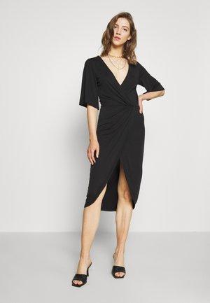 OBJNADINE DRESS - Shift dress - black