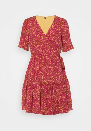 YASRISLO WRAP DRESS - Day dress - pink