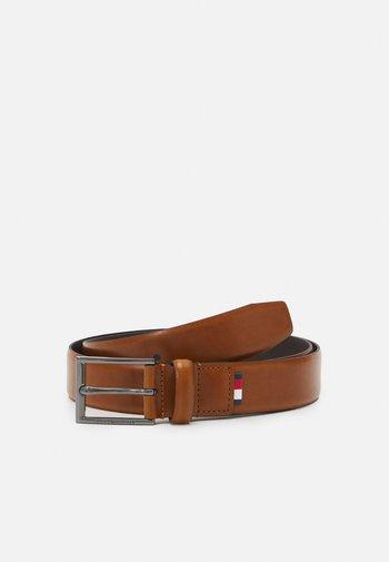 FORMAL BELT - Belt business - brown