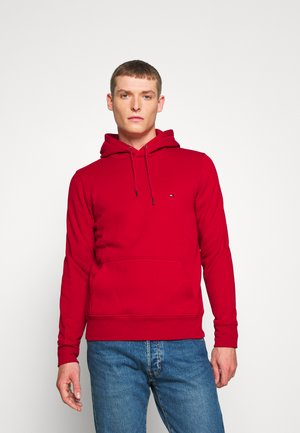 BASIC FLAG HOODY - Felpa con cappuccio - red