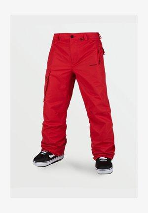 HUNTER PANT - Pantalon de ski - red