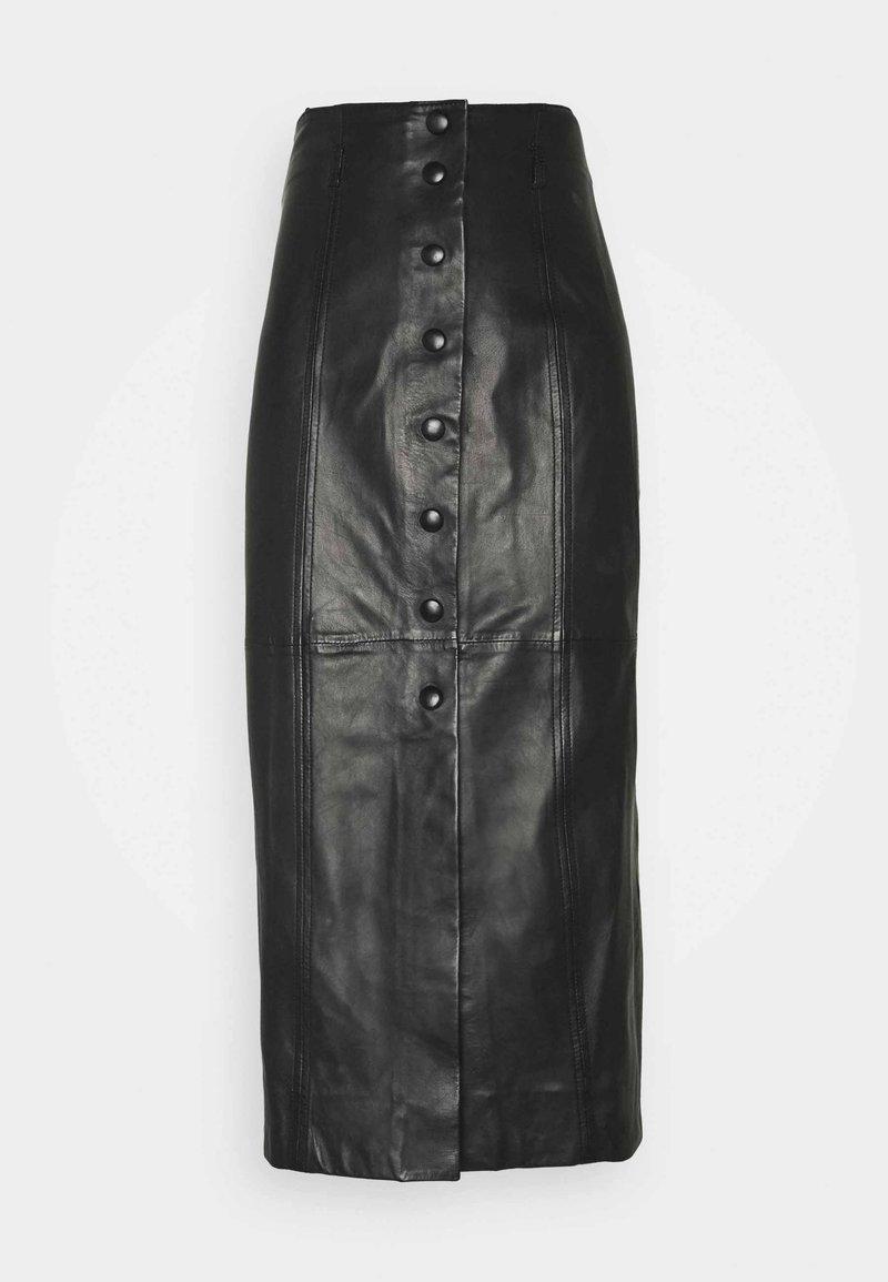 Paul Smith - WOMENS SKIRT - Pouzdrová sukně - black